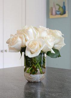 Easy DIY Marble-Dipped Vase