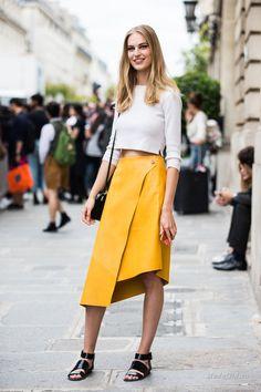 Уличная мода: Лучшие образы с юбками лето 2016