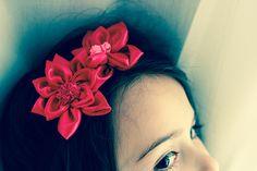 Mimi et petit Loup: Réaliser un serre-tête fleur en tissu