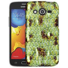 Samsung Galaxy Avant Snake Green Skin Slim Case