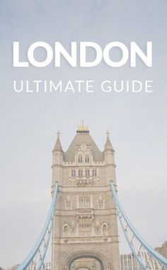 The Ultimate Guide to London. Bring the whole family and explore London. These family friendly activists with keep everyone entertained and happy. #Vacation #London #Europe #Travel
