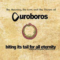 ouroborus uroborus ουροβόρος όφις symbol meaning magic alchemy gnostic talisman