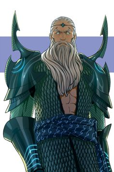 Valar- Ulmo, King of the Sea, Lord of Waters, and Dweller of the Deep