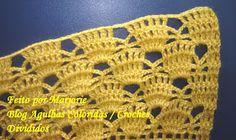 Agulhas Coloridas Croche e Trico: PAP Casaquinho de Croche de BEBE - Feito por Lindinha Crochet Bebe, Knit Crochet, Crochet Hats, Baby Knitting, Crochet Patterns, Blog, Fashion, Crochet Baby Boots, Crochet Baby Clothes