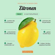 Wie esst ihr Zitronen am liebsten? Wie gesund die Gelblinge wirklich sind: eatsmarter.de/lexikon/warenkunde/obst/zitronen