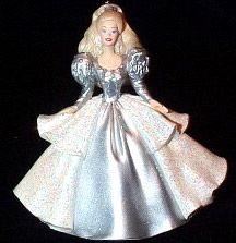 2000 Barbie 5th-Holiday Barbie CLUB  Hallmark Ornament at Ornament Mall