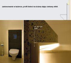 Oświetlenie nastrojowe dzięki profilom LED profile do tasm led oswietlenie lazienki oswietlenie sypialni oswietlenie pokojowe