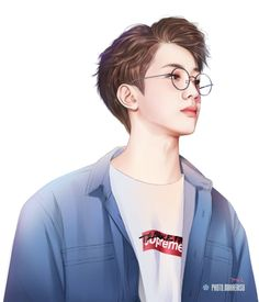 Lai Kuanlin fanart Anime Korea, Korean Anime, Fanart Kpop, Swag Boys, Kpop Drawings, Thai Art, Lai Guanlin, Aesthetic Pastel Wallpaper, Handsome Anime