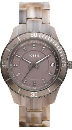 #Fossil #Watch , Fossil Women's ES3089 Stella Resin Watch