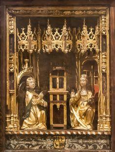 Verkündigung, Kloster San Pedro el Viejo, Provinz Huesca, Spanien