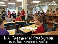 Accountable Talk: Live Professional Development! Watch a short video of my students using accountable talk for our faculty!