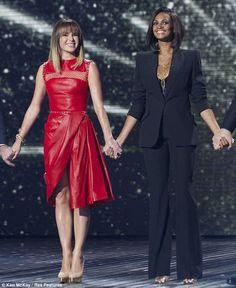Alesha Dixon and Amanda Holden. Britain's Got Talent. Semi-final 4. 31 May 2013. (c) 2013 ITV