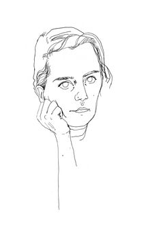 Faces of I - Series by viennese illustrator ifwhat I Series, Mean People, Illustrator, Faces, Drawings, Artist, Artists, The Face, Sketches