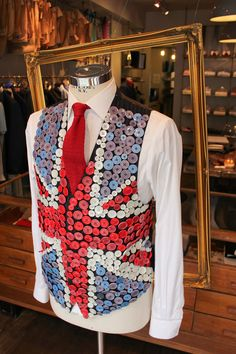 Happy Jubilee - from Timothy Everest Patriotic Clothing, Patriotic Outfit, Clothing Branding, Union Jack, Vera Bradley Backpack, Cow, British, Retail, Fantasy