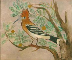 Hoopoe. Facsimile by Howard Carter | Flickr - Photo Sharing!