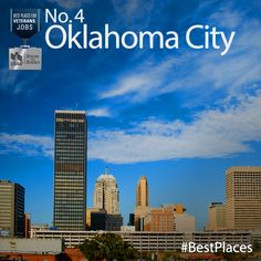 Congratulations Oklahoma City! You made our 2013 #BestPlaces for Vets: Jobs list. As the name suggests, these are the cities with the most promising job prospects for #veterans.