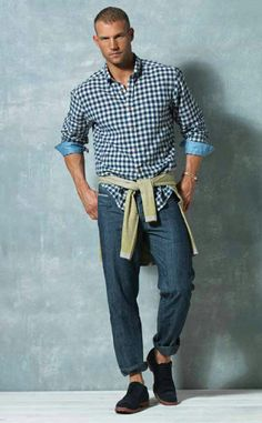 Summer. jeans. - The idea of my husband wearing his jeans like this makes me LOL!!!