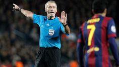 Martin Atkinson arbitrará el FC Barcelona-Bayern Leverkusen de Champions League
