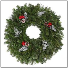 Product of the week! DECORATED WREATH perfect addition to your front door for the holiday season! Fresh Cut Christmas Trees, Buy Christmas Tree, Christmas Shopping, Holiday Wreaths, Holiday Decor, Fraser Fir, Tree Sale, Shopping Near Me, Holidays And Events