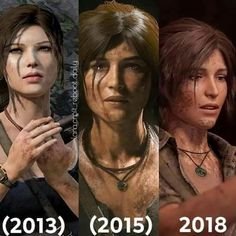 The only game I know that every new addition is a significant upgrade of the previous. BRAVO to the Tomb Raider team, congratulations. Tomb Raider 4, Tomb Raider Video Game, Tomb Raider Lara Croft, Tomb Raider Angelina Jolie, Lara Croft Angelina Jolie, Joel And Ellie, Laura Croft, Dark Drawings, Video Games Girls