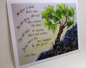 Items similar to Not all those who wander are lost Lord of the Rings Tolkien Inspirational Quote calligraphy art watercolor on Etsy