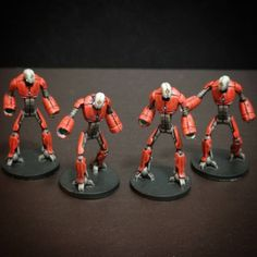 The time has finally come and I've laid a brush on some Core Space miniatures! Core space is the first game by Battle Systems (fam. Warhammer Figures, Warhammer 40k, Pvp, Metal Working, Minis, Character Art, Robot, Infinity, Zero