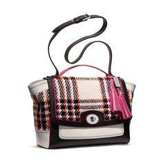 Coach Handbags - Purses, Designer Handbags and Reviews at The Purse... ❤ liked on Polyvore