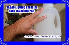 COMO FAZER SABÃO LIQUIDO P/ LAVAR ROUPAS (SUPER SABÃO DE ALCOOL)