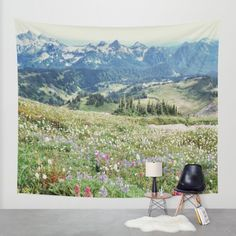 Buy Wildflower Meadow Wall Tapestry by Hillary Murphy. Worldwide shipping available at Society6.com. Just one of millions of high quality products available.