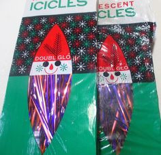NOS pink and purple tinsel!  Two packages available!!!  Vintage, retro, atomic Christmas by MyRetroAtomicLife on Etsy
