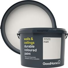 GoodHome walls and ceilings durable paint is suitable for walls, wood and metal with our toughest formulation and excellent covering power. It is extremely hard wearing so is ideal for hallways, stairwells and children's bedrooms. San Jose, Granada, Vancouver, Cleaning Mold, Paint Stain, Andalusia, Kitchen Paint, Interior Paint, Wood And Metal