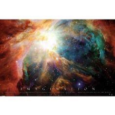 Imagination nebula poster