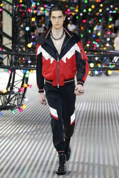 Dior Homme | Menswear - Spring 2017 | Look 26