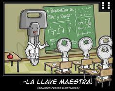 La llave maestra - funny :)