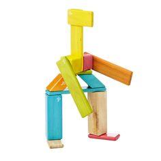 14 PIECE MAGNETIC BLOCK SET | Building blocks, Tegu, children blocks | UncommonGoods