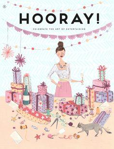 Hooray Magazine - Emma Block Illustration