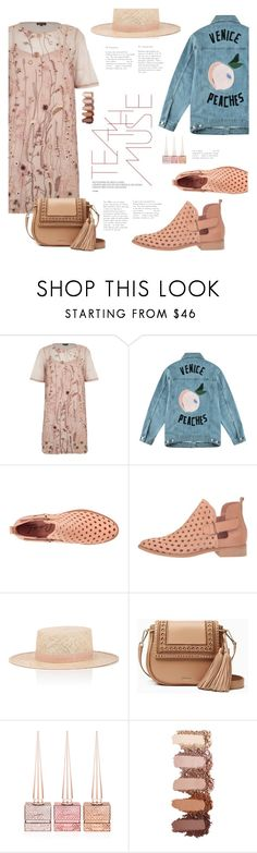 """Amuse Me"" by lisalockhart ❤ liked on Polyvore featuring River Island, Être Cécile, Coolway, Janessa Leone, Kate Spade, Anastasia, Christian Louboutin, booties, tshirtdresses and 60secondstyle"