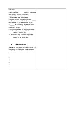 Detalyadong Banghay-Aralin sa Filipino V 4a's Lesson Plan, Lesson Plan Examples, Lesson Plan In Filipino, Presentation, How To Plan, Math, Math Resources, Early Math, Mathematics