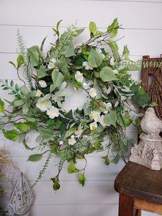 22 Spring Front door wreath Summer wreaths Home Decor