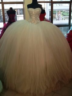 Quinceanera Dresses New Arrival Ball Gown Prom Dresses,white Floor-Length Prom Dresses,Sweet 16 dresses,Graduation Gowns,sparkle prom Dresses Brickell Bridal Ball Gowns Prom, Ball Dresses, Prom Dresses, Dress Prom, White Quinceanera Dresses, Sweet 16 Dresses, Sweet Dress, Princess Wedding Dresses, Dream Wedding Dresses