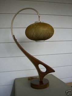 1950's Danish Modern Sculptural Lamp Eames Kagan era | #19888134