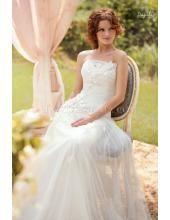 Trägerlose Romantisches Brautkleider 2015 1442 Felicita