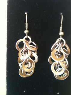 Bronze Shaggy Loopy Loop Earrings by Gen3studioS on Etsy, $6.00