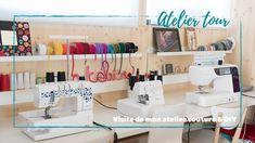 ♡ ATELIER TOUR : Visite de mon atelier couture & DIY ♡