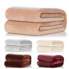 New-Warm-Super-Soft-Large-Fleece-Sofa-Bed-Cover-Blanket-Throw