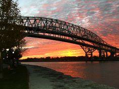Blue Water Bridge ~ welcome to Sarnia