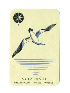"Animal Families, an Abbatt Toys game ""ALBATROSS"""