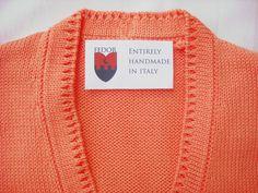 The neckline has a refined tubolar stitch. #pullover #woman