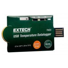 http://handinstrument.se/termometer-r1288/usb-temperatur-datalogger-forpackning-om-10-53-THD5-r65890  USB-temperatur Datalogger (förpackning om 10)  Praktiskt kreditkortstor temperaturlogger med USB 2.0 anslutning och NTC termistor för användning i manövreringstyp exakta temperaturmätningar Programmerbara inställningar: språk, provhastigheten, försenad start tid, alarm-fördröjning, höga/låga larm och säkerhetsfunktioner Indikering via Röda och gröna lysdioder Start-knappen börjar...
