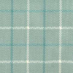Cotton Woven Houndstooth 1 In Size In Ice Blue And White